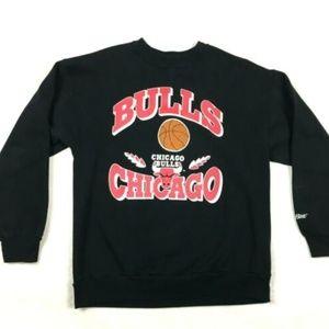 Vintage Chicago Bulls Sweatshirt Mens XL Black